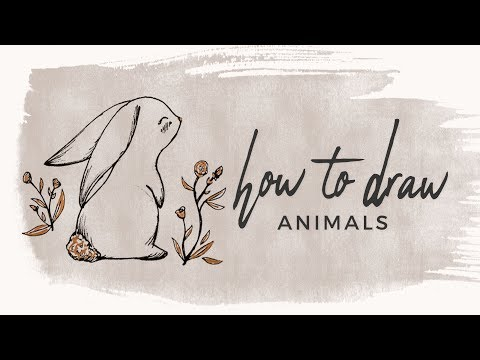 How to Draw Animals | Doodle with me!