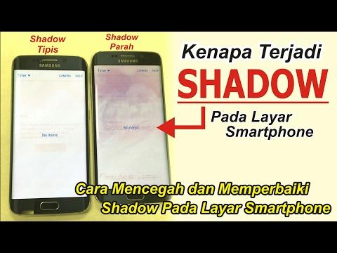 Mengatasi SHADOW pada Layar Smartphone | be Careful BURN IN On Your Smartphone Screen