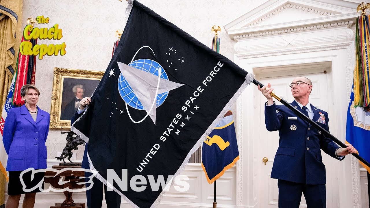 Space Force Is Totally Serious, Stop Laughing | The Couch Report