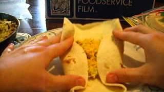 Stuffingfolding Breakfast Burritos