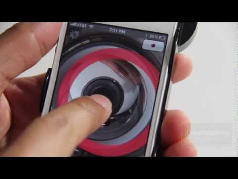 Kogeto Dot Review - 360 Degree Panoramic iPhone 4/4S Video Attachment