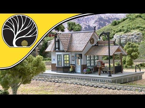 The Depot – N, HO & O Scales | Built-&-Ready® | Woodland Scenics | Model Scenery