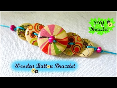 Button bracelet | DIY bracelet within 15 minutes | part - 2