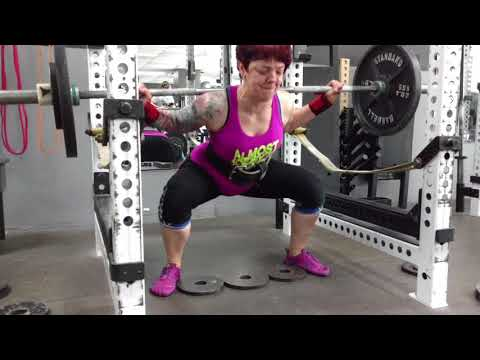 Brutal Iron Gym - Wide Stance Squats to Build Hip Strength (see description)
