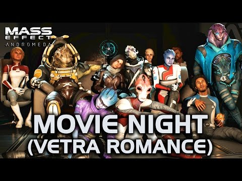 Mass Effect Andromeda - Movie Night (Vetra Romance)
