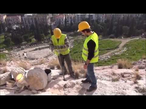 Maccaferri 250 kJ rockfall barriers installation in the Acropolis of Athens