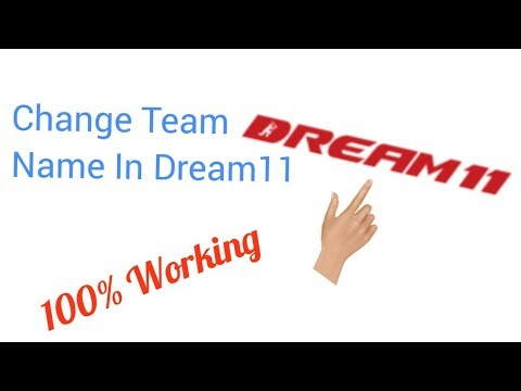 How To Change Your Team Name In Dream11 Fantasy App