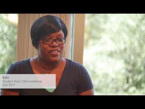 Certified Scrum Master Student Testimonial- Kim