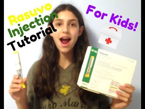 Rasuvo (Methotrexate) Injection Tutorial | FOR KIDS!