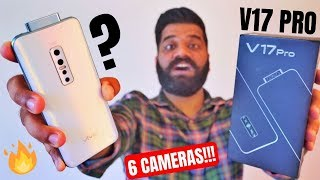 vivo V17 Pro Unboxing & First Look - 6 Cameras - Dual Pop Up Selfie #ClearAsReal?🔥🔥🔥