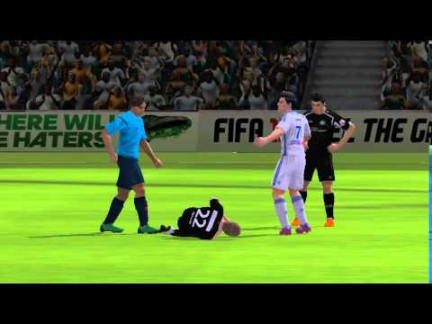 FIFA15 Ultimate Team Mobile: First Pack Gameplay