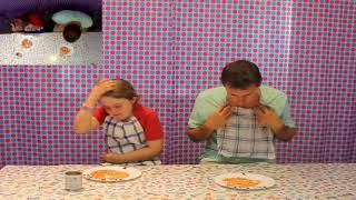 Download The clean plate challenge with baked beans Video