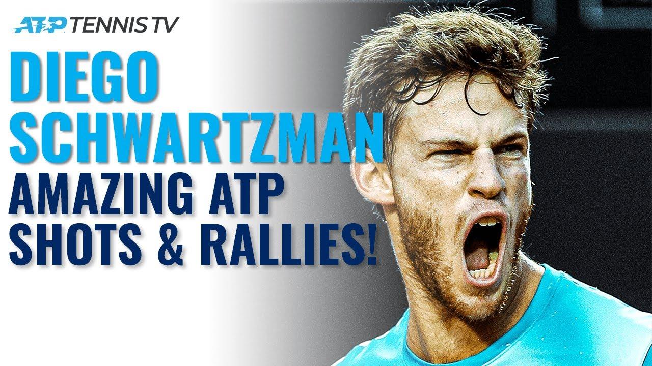 Diego Schwartzman: Best Shots & Rallies on the ATP Tour!