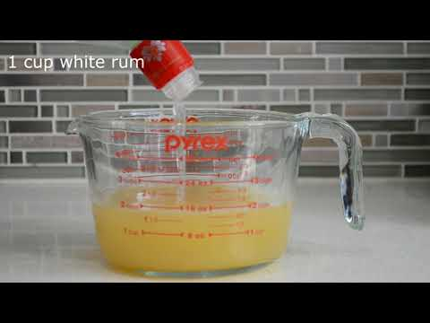 Easy Pineapple Daiquiri Recipe for 4 people