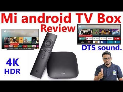 Hindi || mi box android tv review.