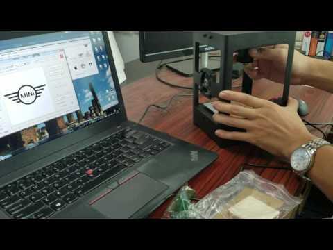 HTPOW 1000mW Non-WIFI Laser Engraver Cutter DIY Art Craft Printer Desktop Mini Cutting Machine