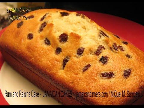 RUM AND RAISINS CAKE recipe