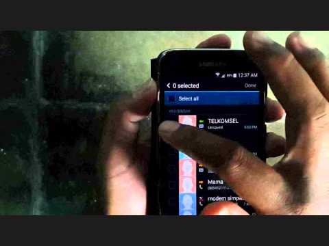 Samsung Galaxy S5 : How to Delete Call Log (Android Phone)