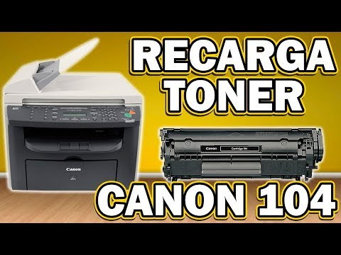 RECARGA │ REFILL DE TONER CANON 104
