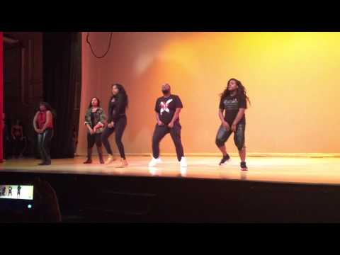Hidden Vanity at Delaware State University performing at class records talent show