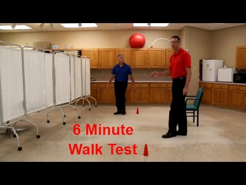 6 Minute Walk Test for COPD, Heart Disease, Chronic Respiratory Failure-etc.