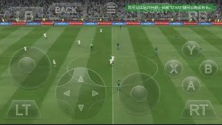 PES 2018 X BOX LEVEL GAME (GLOUD GAMES) PLAYING ON ANDROID