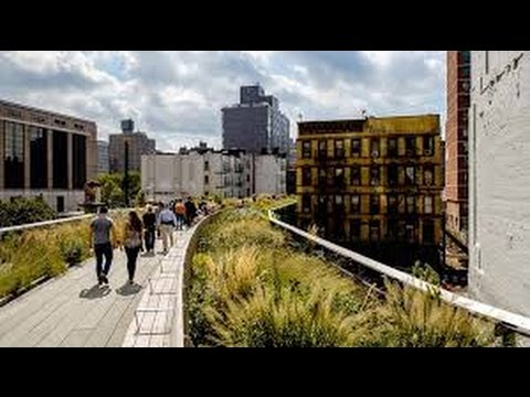 NYC High Line & Chelsea Market 2015 Winter
