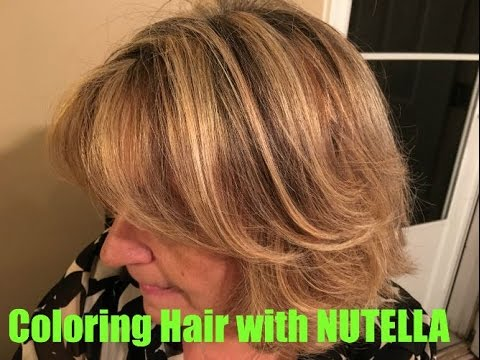 Coloring Hair with Nutella | Hair Color Allergy Alternative