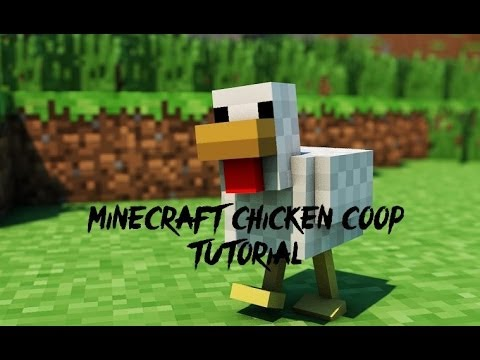 How To Build minecraft chicken coop tutorial- xbox edition