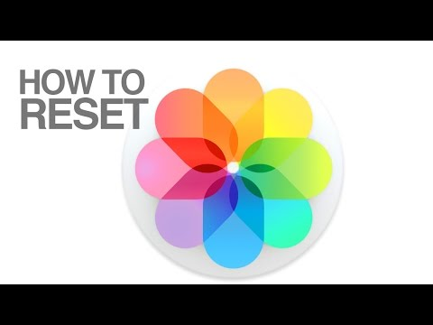 How to Reset Photos app in Mac OS X new photos app, iPhoto to Photos, delete library replace library