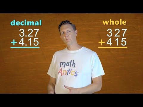 Math Antics - Decimal Arithmetic