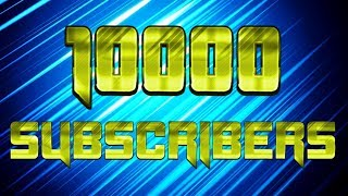 Every Gaming Video on my Channel Time-Lapse | 10000 Subscribers Special