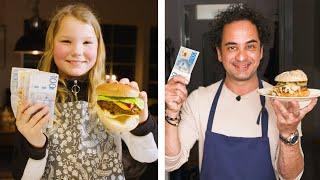 Amatör får 10.000, proffs 100 – vem gör godast hamburgare?