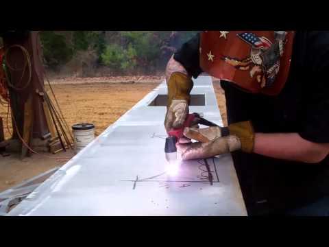 LONGEVITY Performance ForceCut 80i Plasma Cutter Cutting 1/4inch 6061 Aluminum