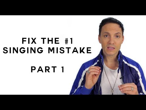 How to Fix the #1 Singing Mistake - Part 1