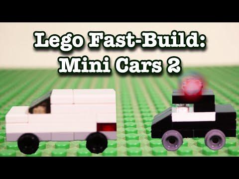 Lego Fast-Build: Mini Cars 2