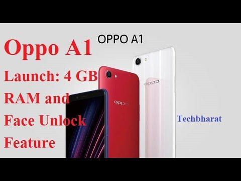 Oppo A1 mein Hogi 4 GB ki RAM or फेस अनलॉक फीचर