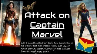 Download Attack on Captain Marvel: A casual look at the backlash against recent female lead superheroes. Video