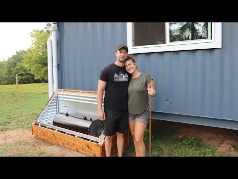 Xxx Mp4 FREE HOT WATER Building A Solar Batch Water Heater 3gp Sex