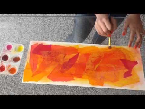 Pastel Dusting-Art