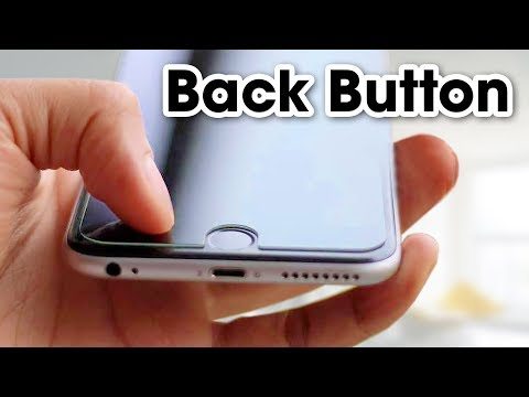 Back Button For iphone | How to turn on Assistive touch