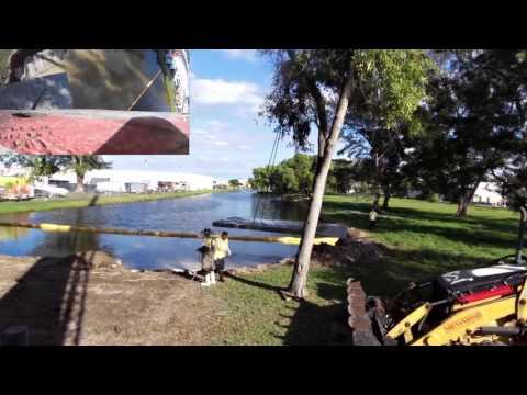 Boat Ramp Install