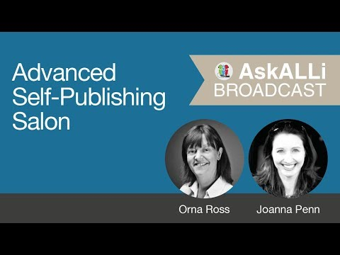 The Different Ways Indie Authors Can Make Money: March 2018 AskALLi Advanced Self-Publishing Salon