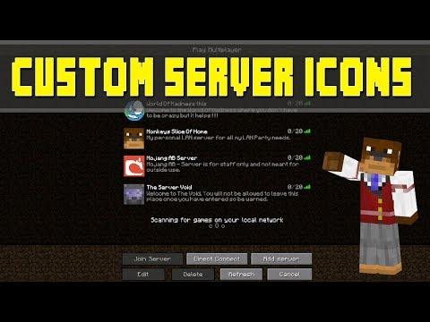 Minecraft Tutorial - Custom Server Icons ! ! !