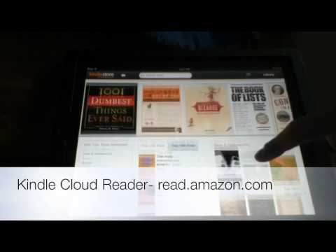 Kindle Cloud Reader for iPad