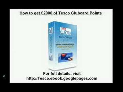 £2000 Tesco Clubcard Points - Details Here !