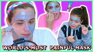 "WORLD'S MOST PAINFUL MASK / HELL PORE CLEAN UP FACE MASK ""SISTER FOREVER"""