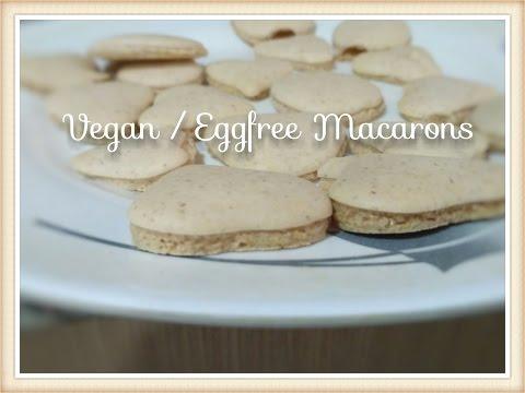 Vegan / Eggless Macaroons
