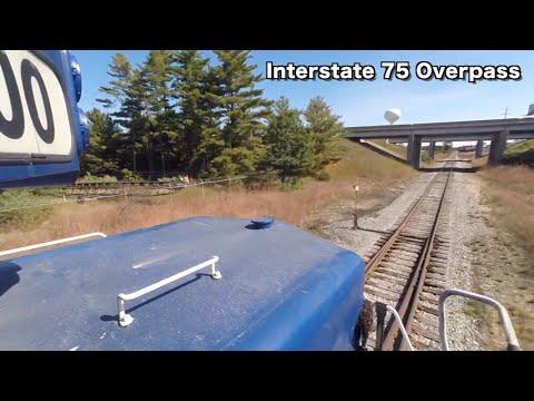 Locomotive Ride Along: Lake State Railway's Gaylord Turn