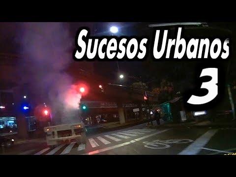 Sucesos Urbanos 3 | FUERTES LLUVIAS | DASHCAM CDMX